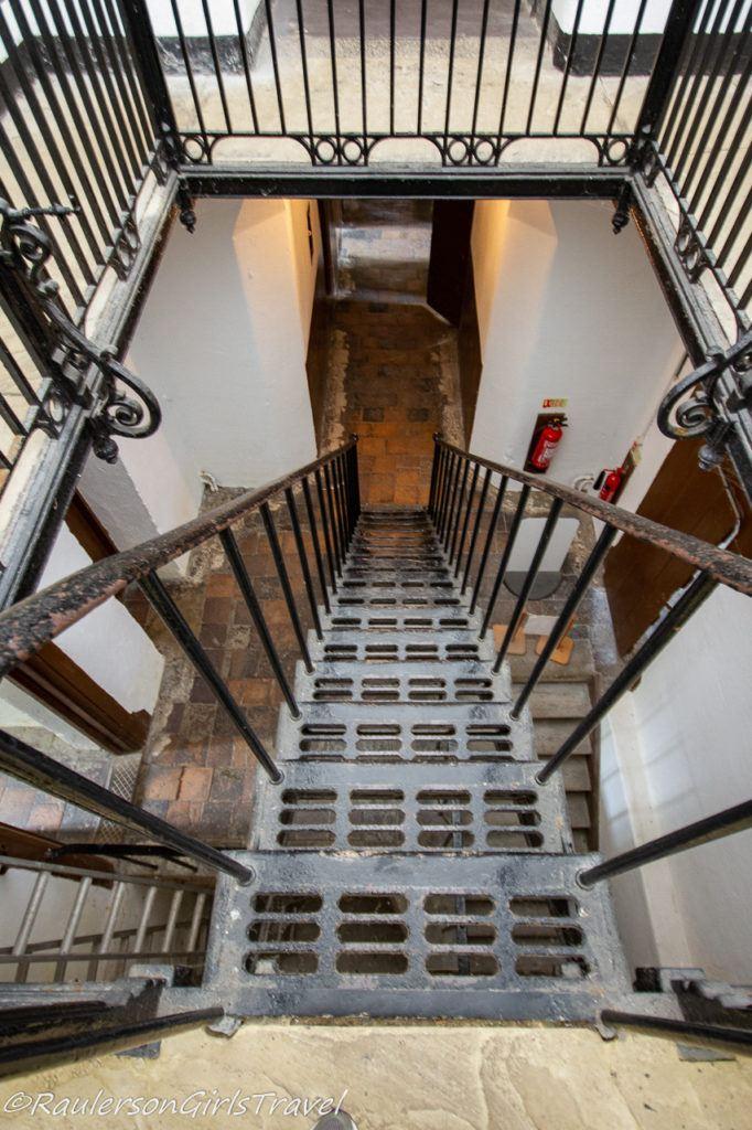 Stairway in the Beaumaris Gaol