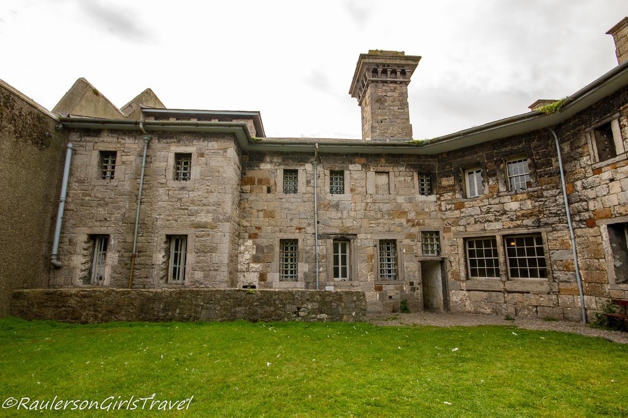 Inside Courtyard of the Beaumaris Gaol