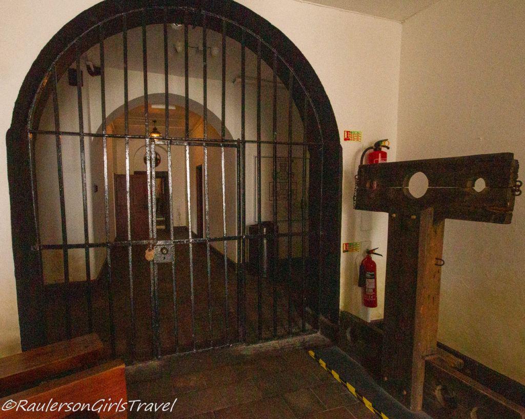 Entrance to the Beaumaris Gaol