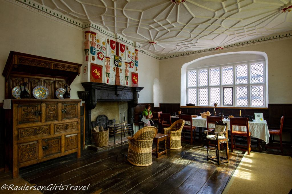 Parlor in Plas Mawr