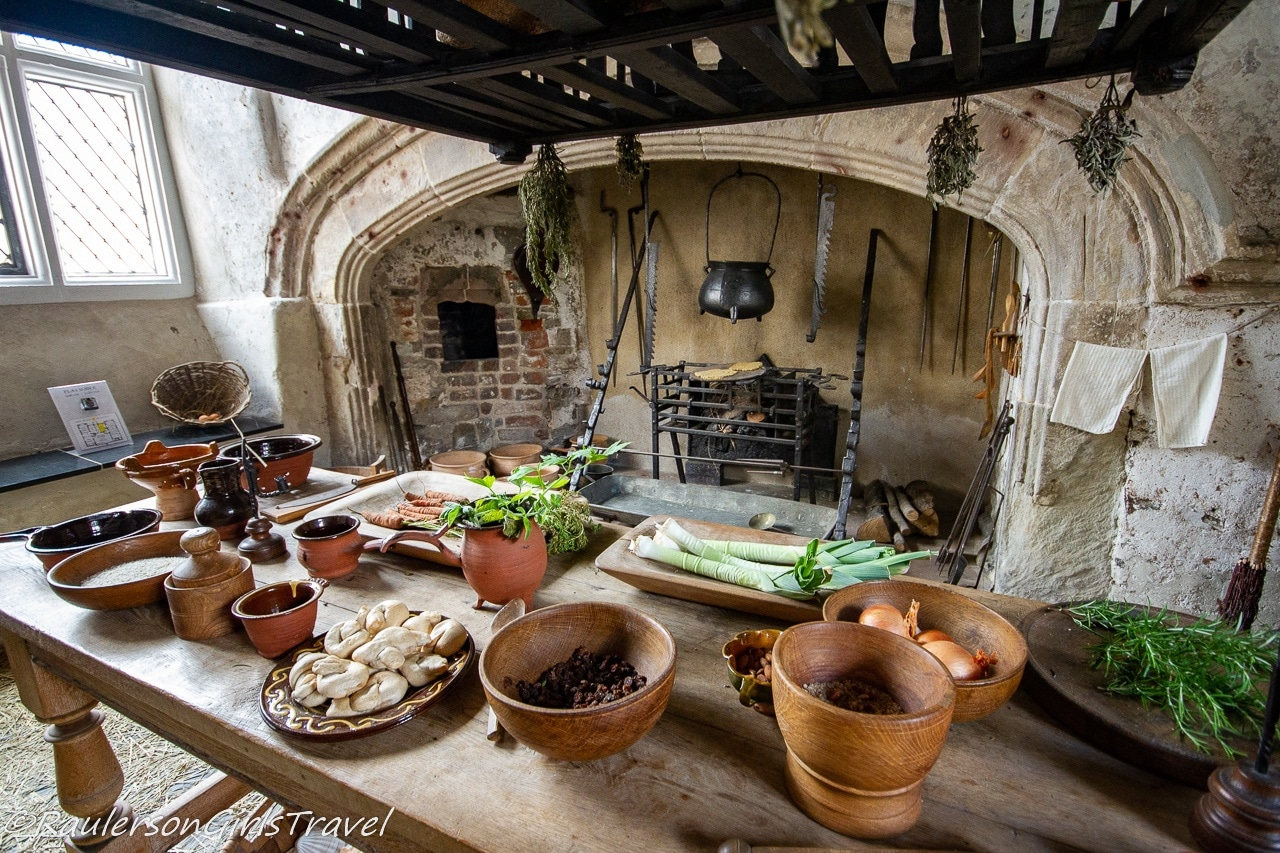 The Kitchen in Plas Mawr