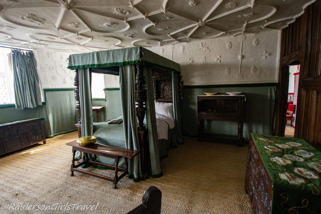 Robert Wynn's bedchamber in Plas Mawr