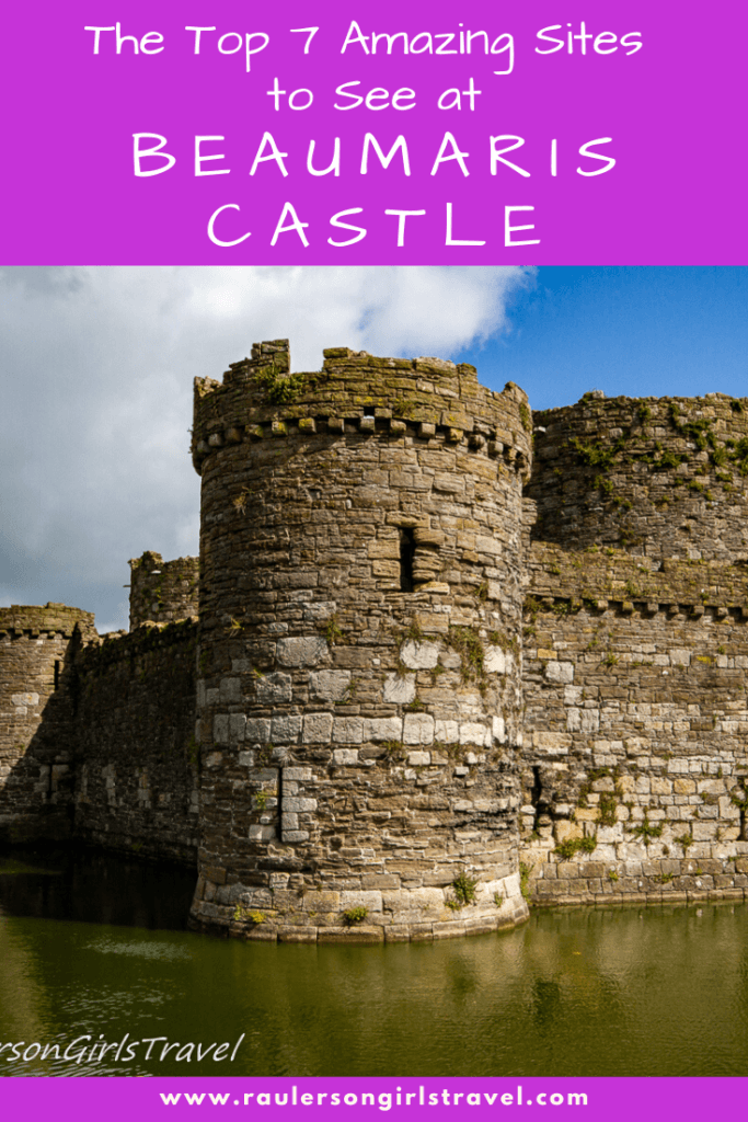 Beaumaris Castle Pinterest Pin