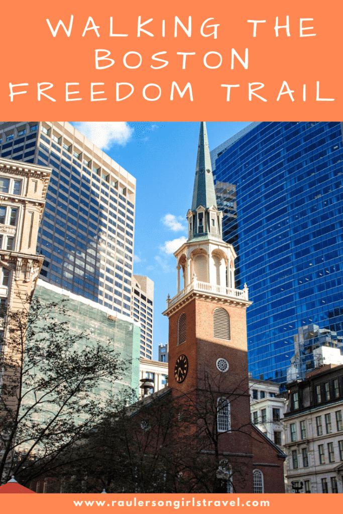 Boston Freedom Trail Pinterest Pin
