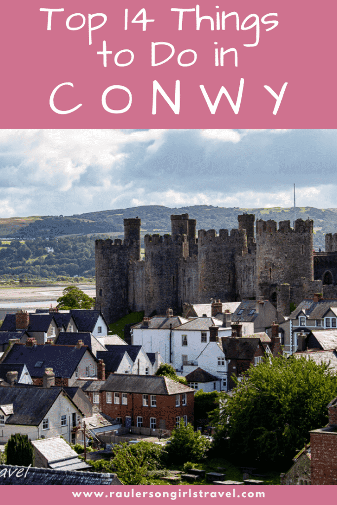 Things to do in Conwy Pinterest Pin