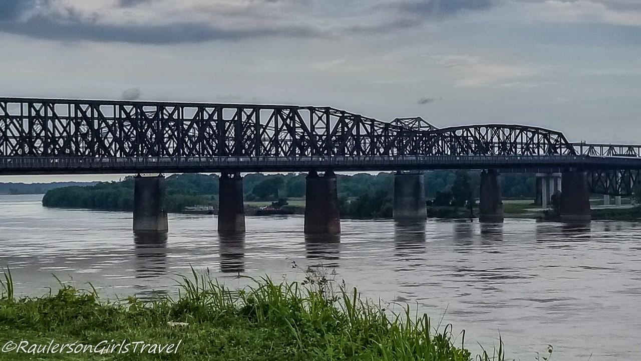 Big River Crossing Bridge in Memphis