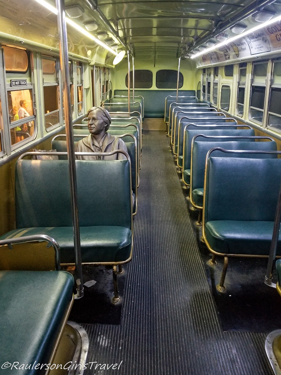 Replica of Rosa Parks on the Bus - NCR Museum