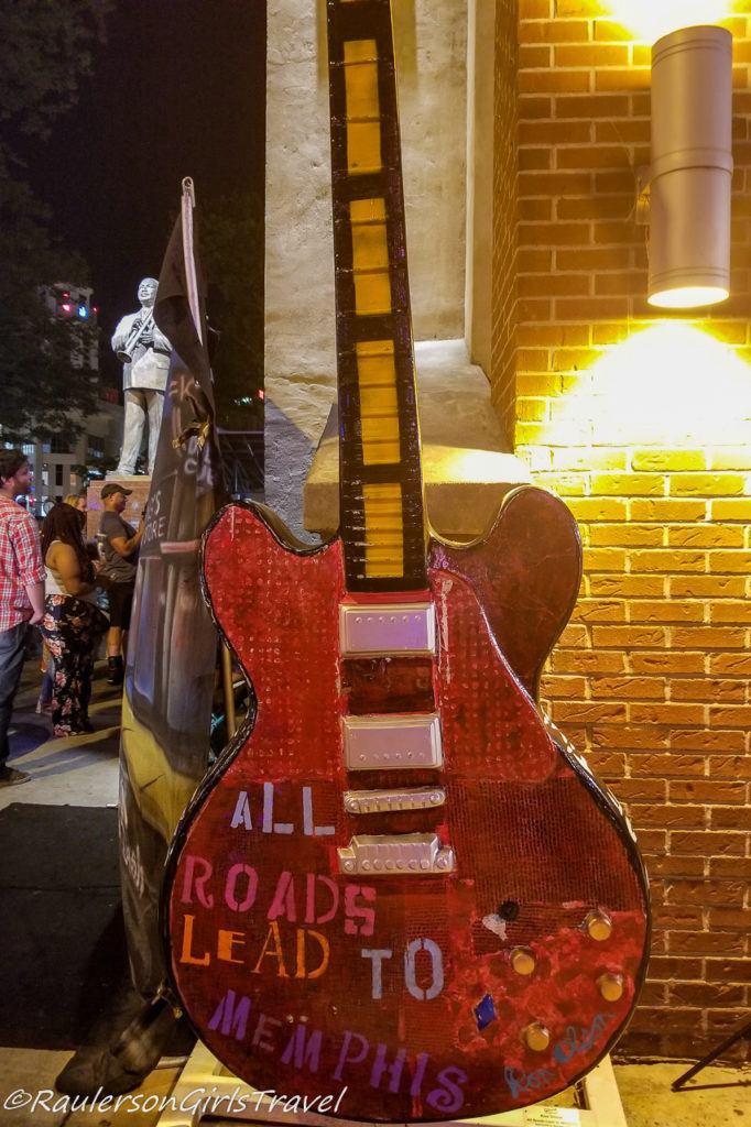 Memphis Big Guitars Art