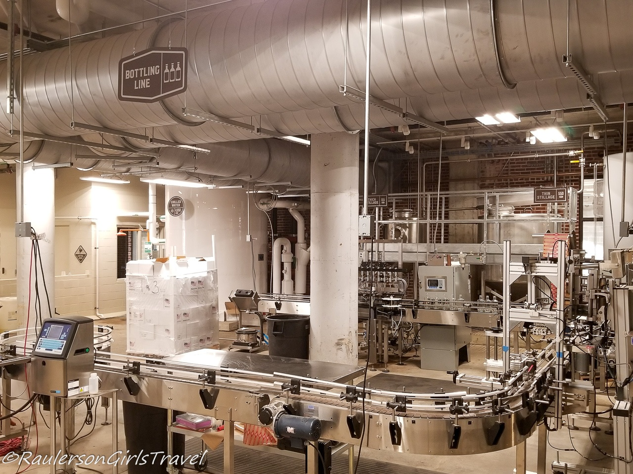 Bottling Line at Old Dominick Brewery