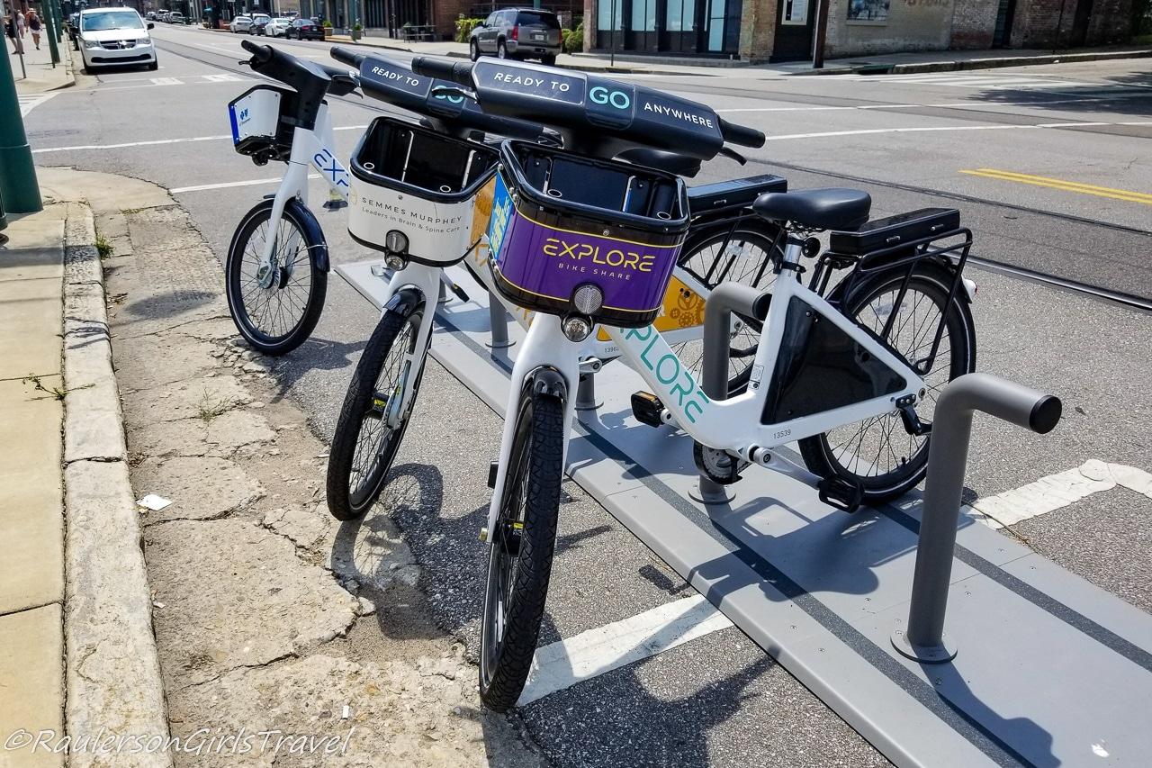 Explore Bike Share in Memphis