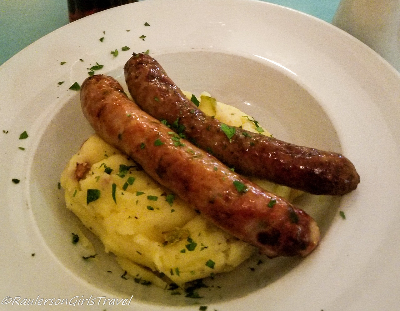 Bangers & Mash in Scotland -best food by country