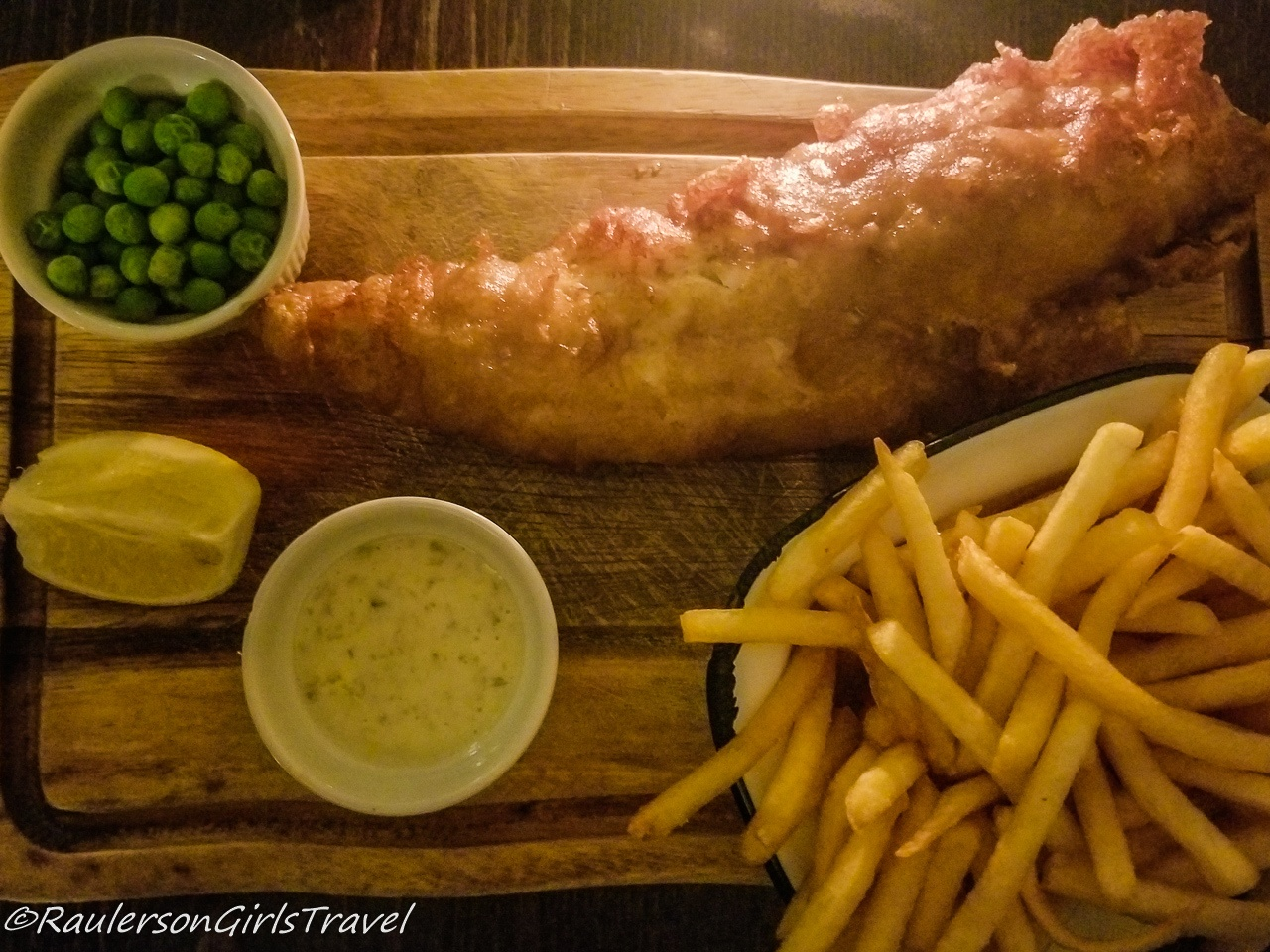 Fish and Chips in England - best food by country