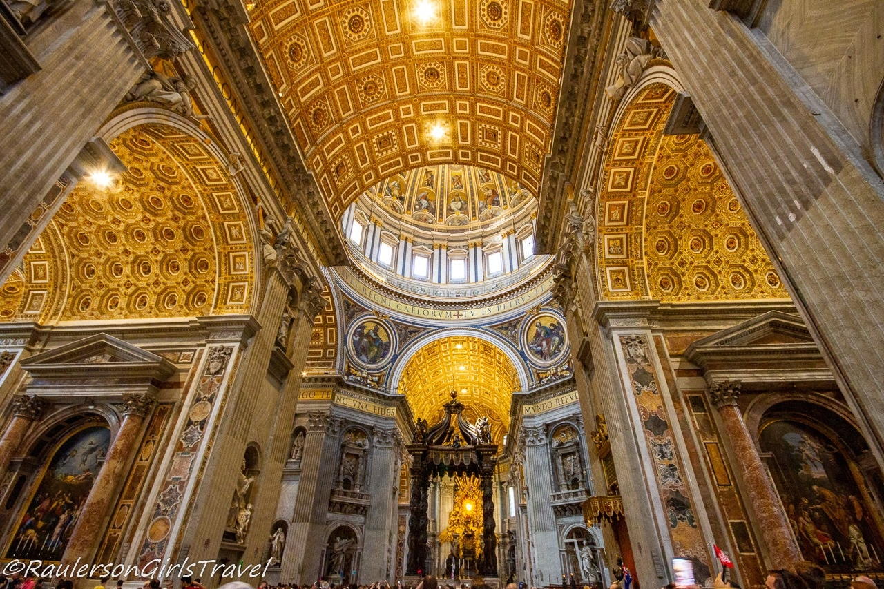 St Peters Basilica in Vatican City - Virtual tours