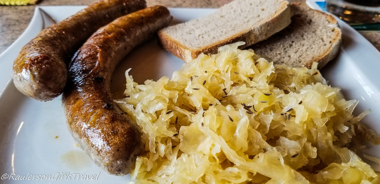 Sausage and Sauerkraut in Germany