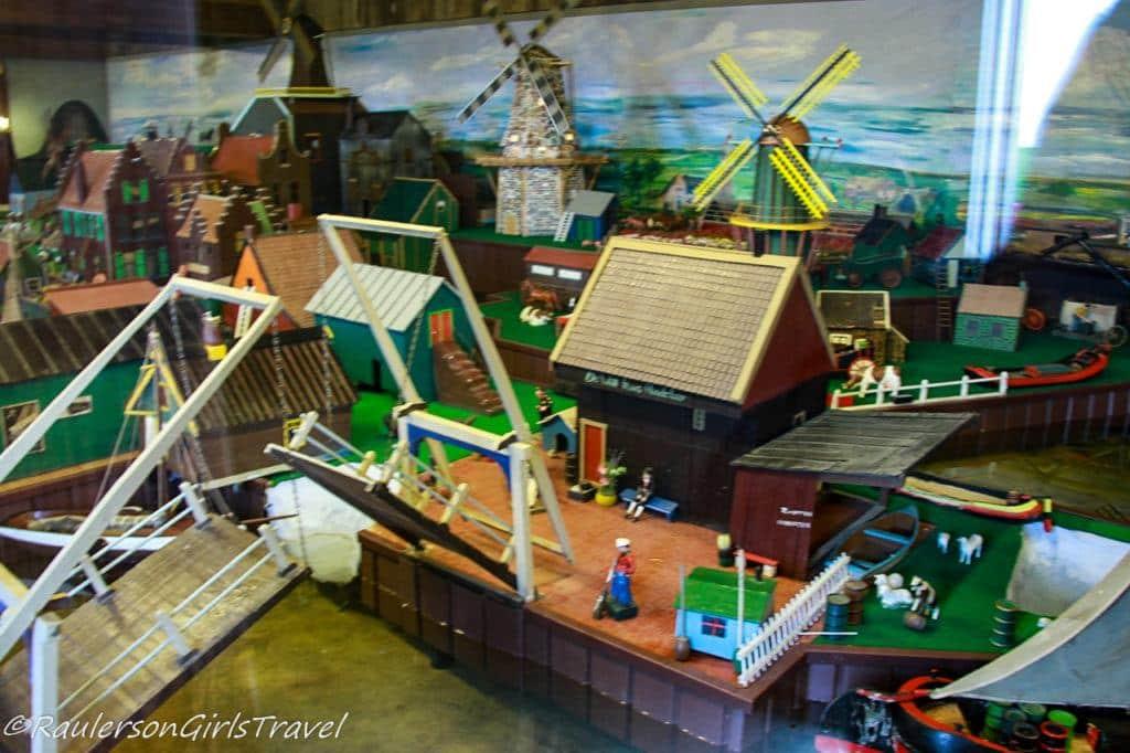 Miniature Dutch town