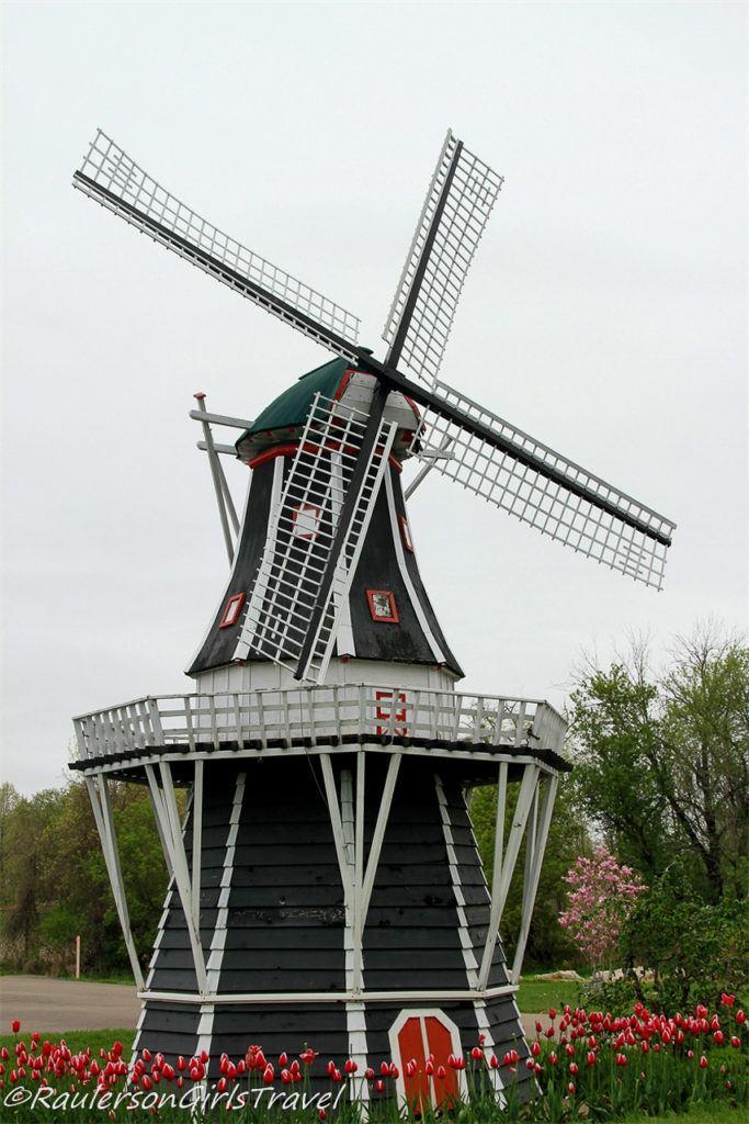 Smaller windmill at Windmill Island Gardens