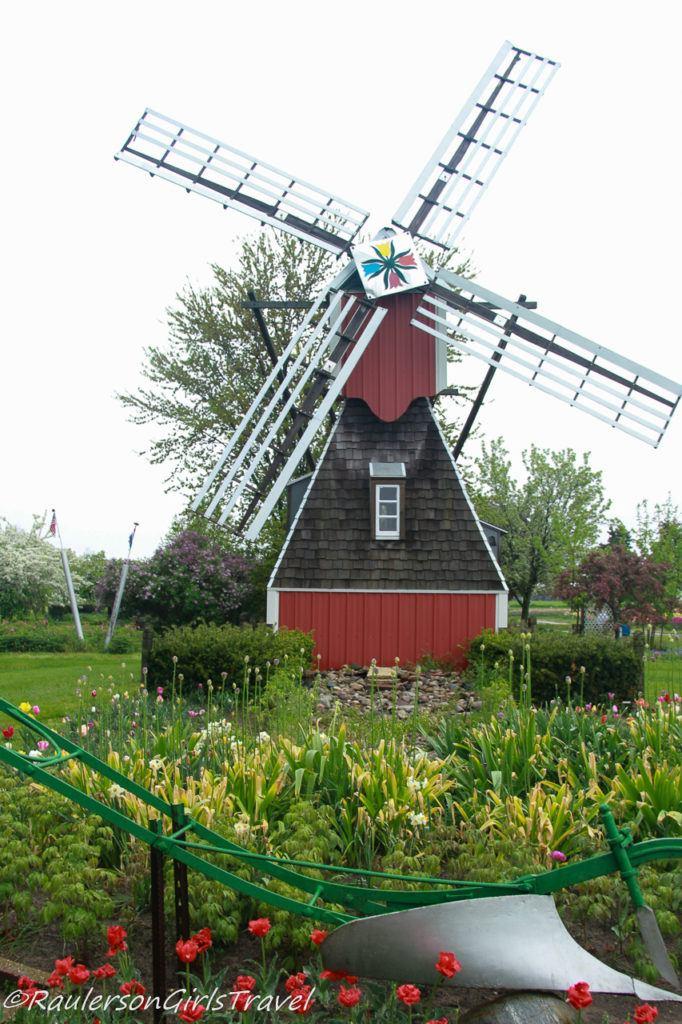 Small Windmill at Veldheer Tulip Gardens