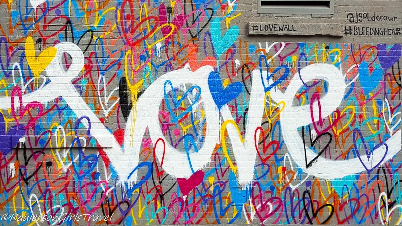Love Wall Street Art in New York City