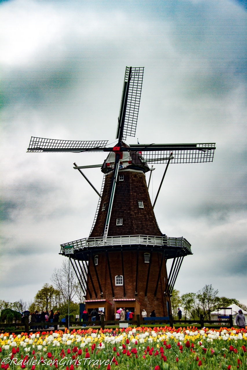 250 year old windmill at Windmill Island Gardens