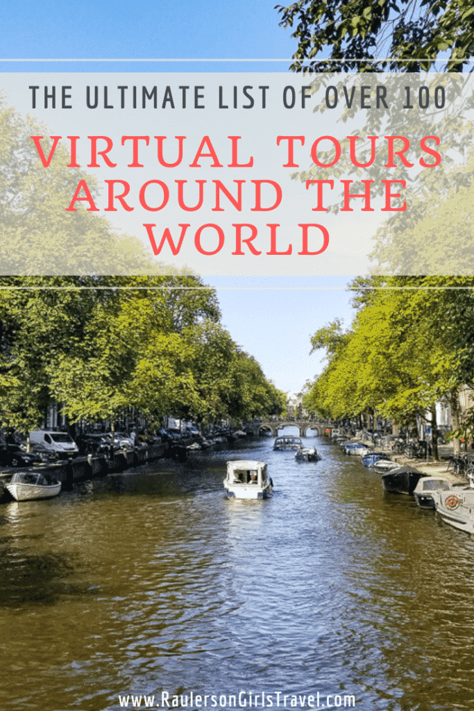 Virtual Tours Around the World Pinterest Pin