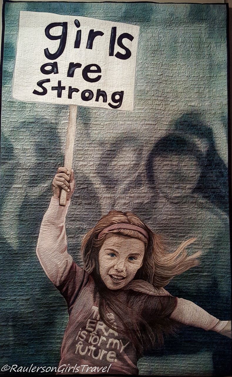 Girls are Strong - 2014 Quilt