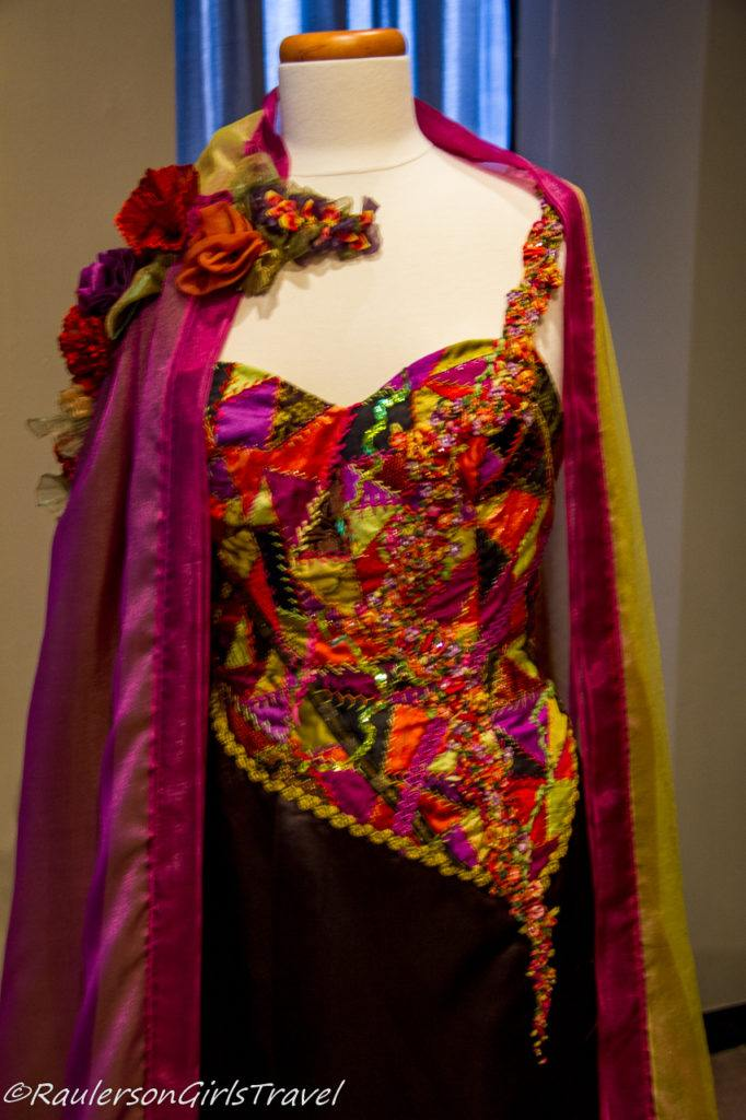 Crazy quilted bustier - contemporary pieces by Judith Baker Montano