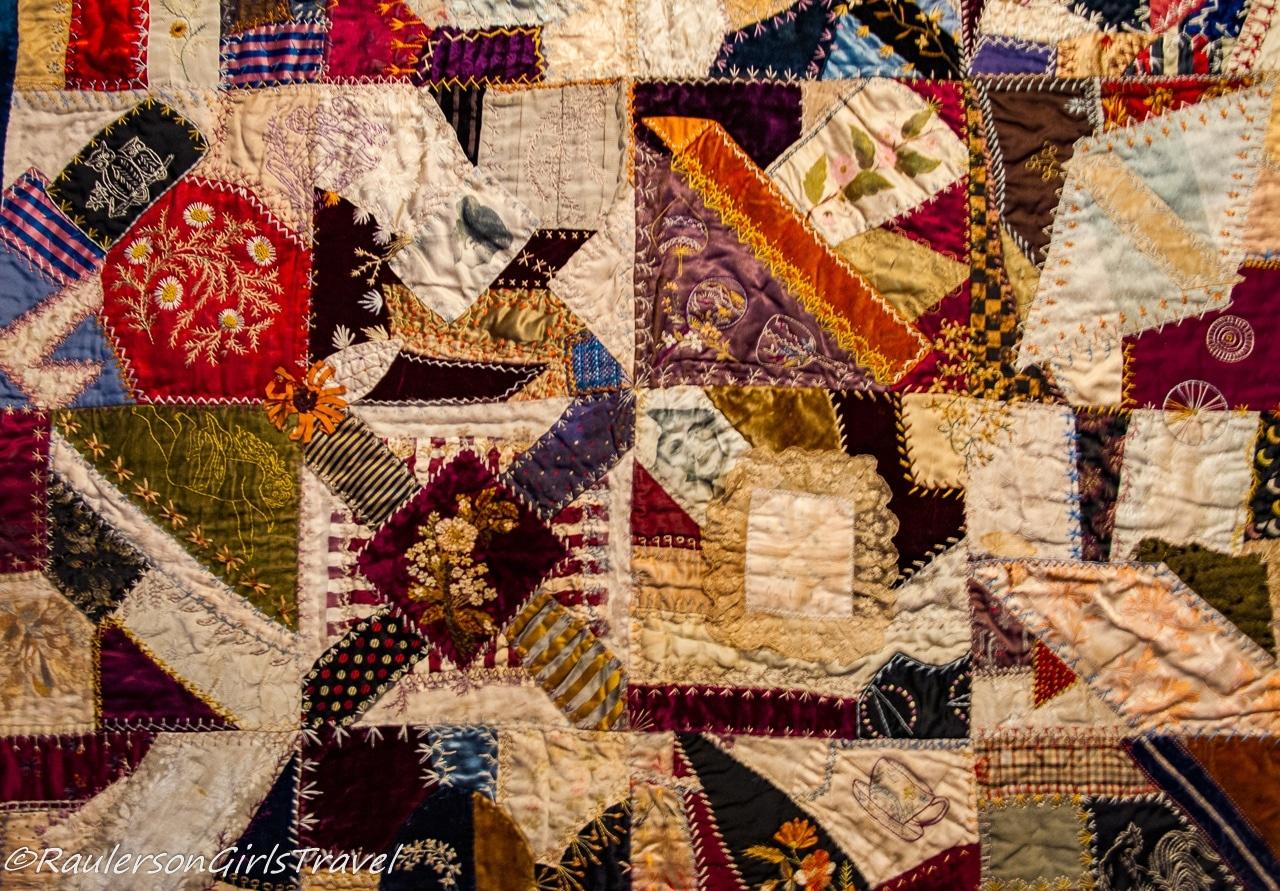 Cleveland-Hendrickson Crazy Quilt c. 1884