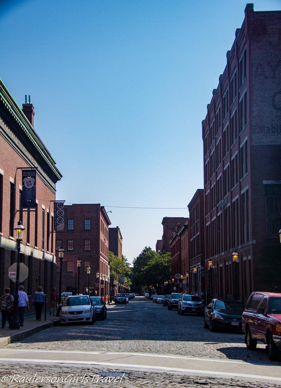 Downtown Lowell, Massachusetts