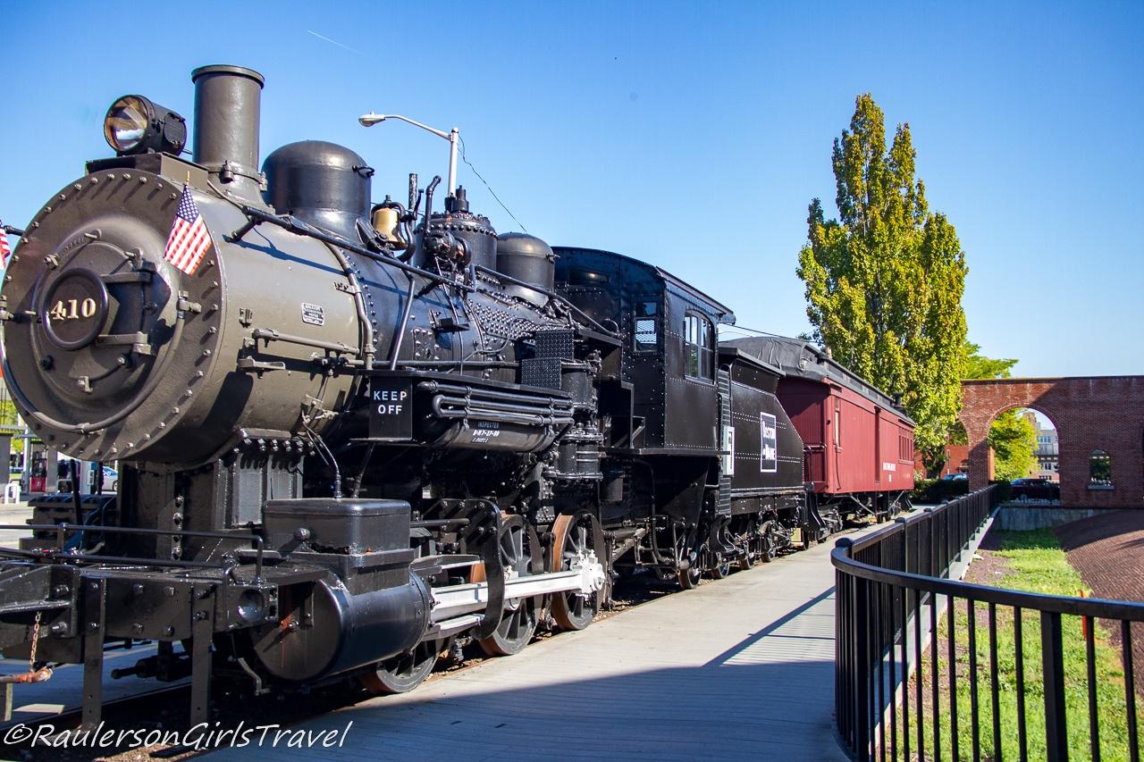 Boston & Maine Railroad steam locomotive No. 410