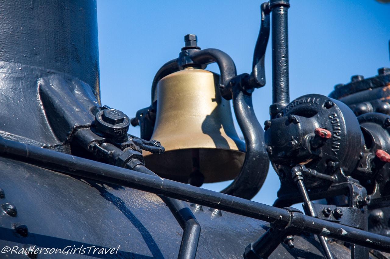 Boston & Maine Railroad steam locomotive No. 410 bell