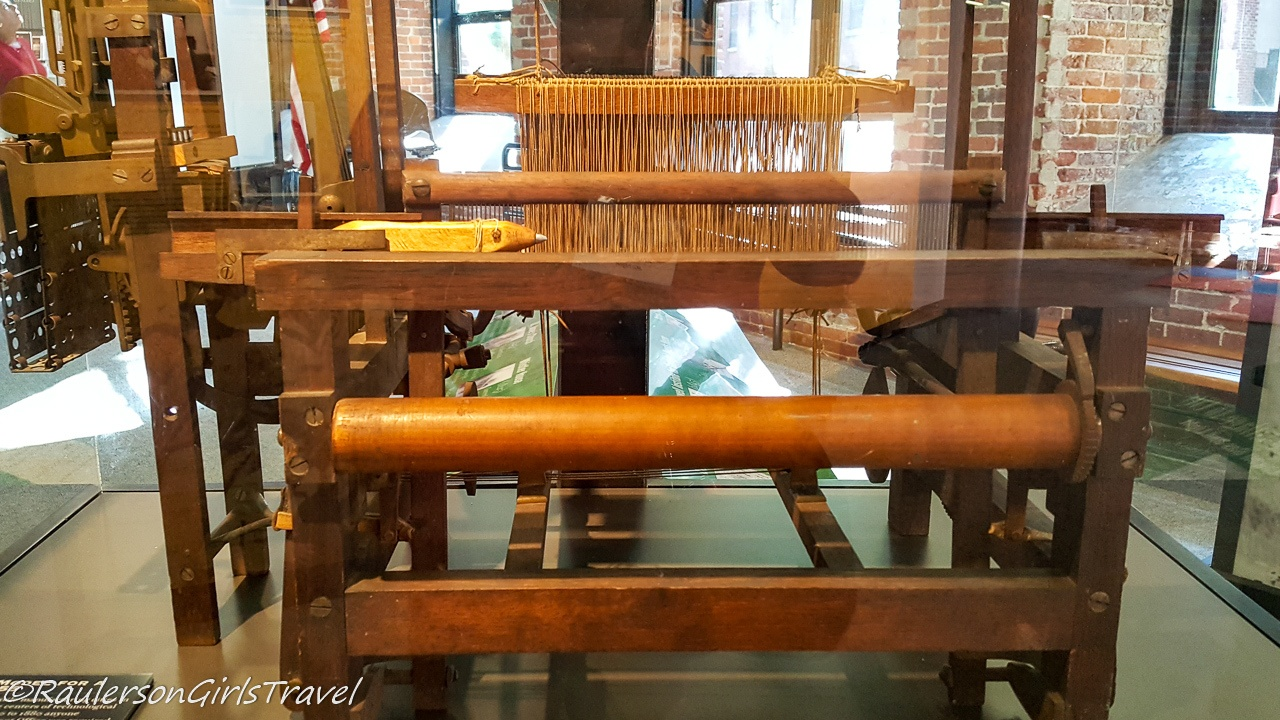 1855 Patent Model for a Loom