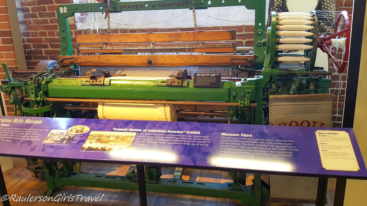 1920 Draper Model E Spring Top Loom