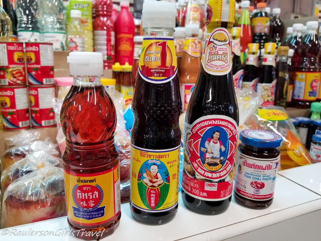 Sauces to use in Thai cooking