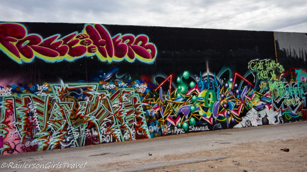 Colors on Black street art