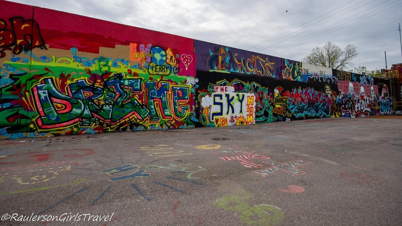 Street Art on The Mural Mile