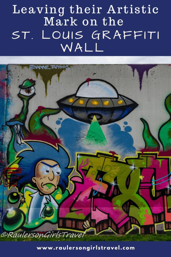 St. Louis Graffiti Wall Pinterest Pin