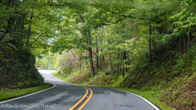 Tail of the Dragon curvy roads