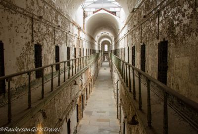 An abandoned Cell Block