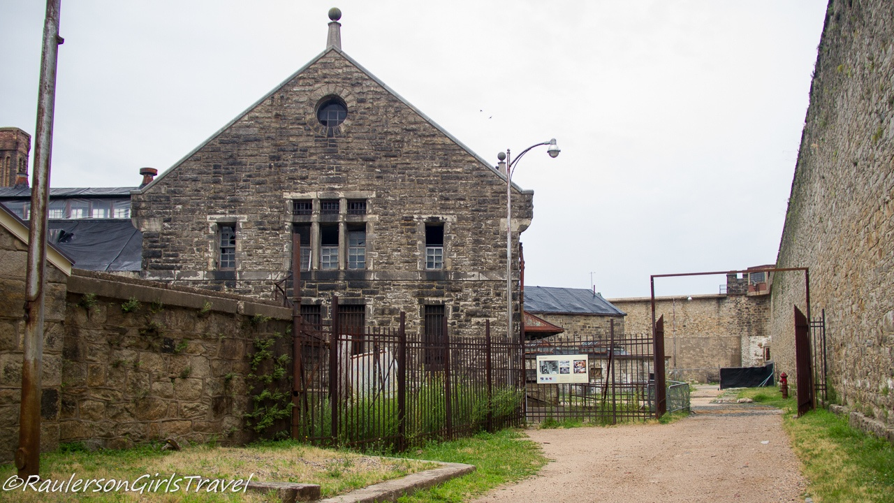 Entrance to the yard of the Eastern State Penitentiary