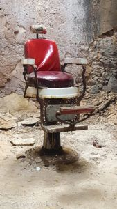 Old Barber Shop Chair in Eastern State Penitentiary