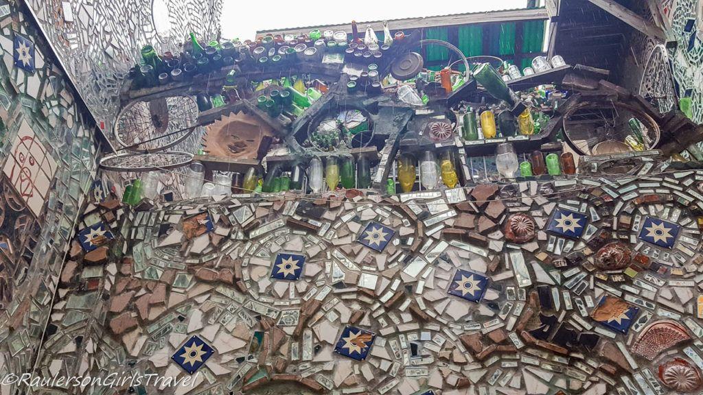 Art installation at Magic Gardens in Philly