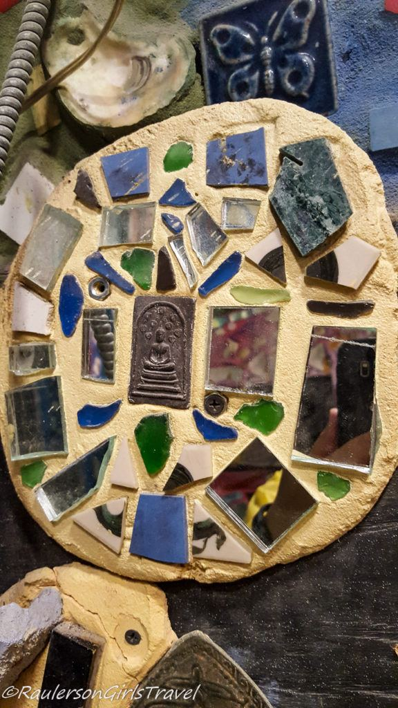 Tile and mirrors - creative art