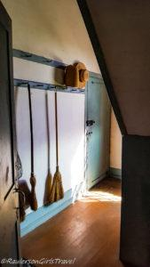 Cloak Room in the Meeting House