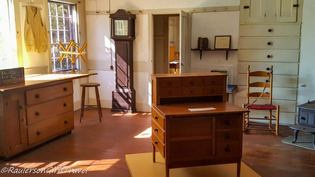 Room in Canterbury Shaker Village