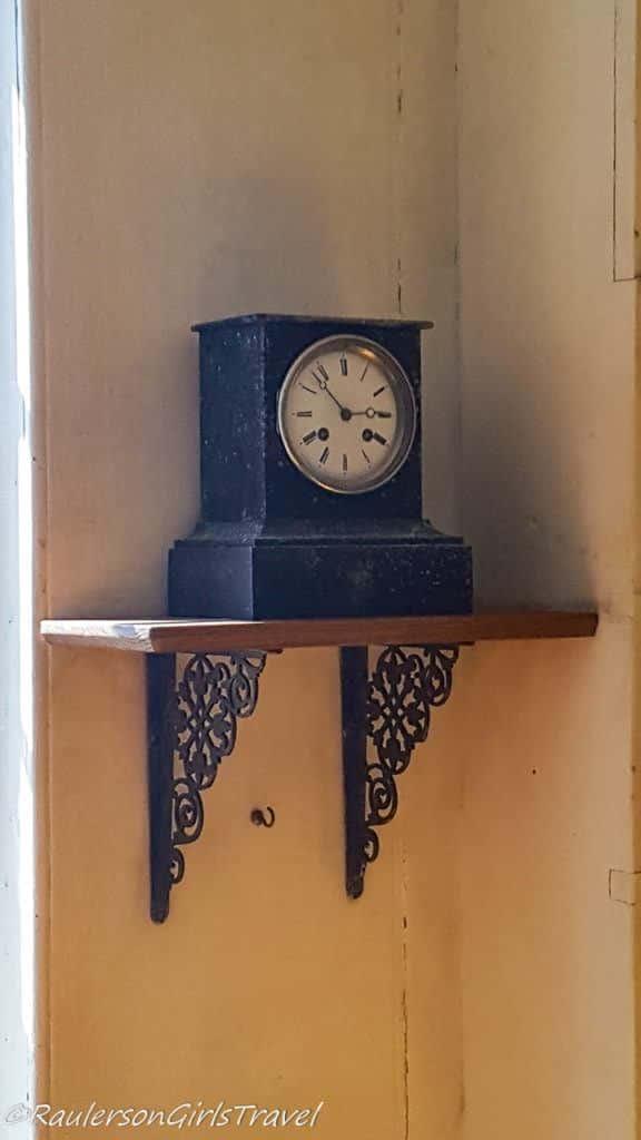 Old Clock on a shelf