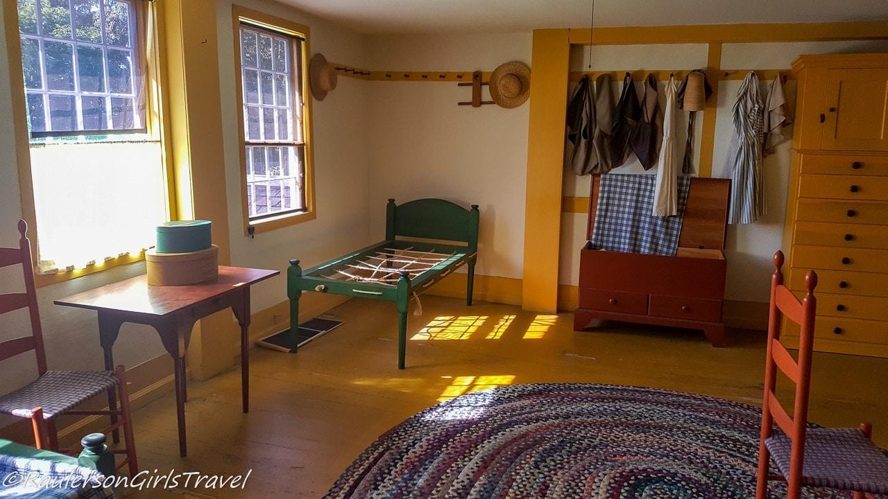Brother's Bedroom in Shaker Village