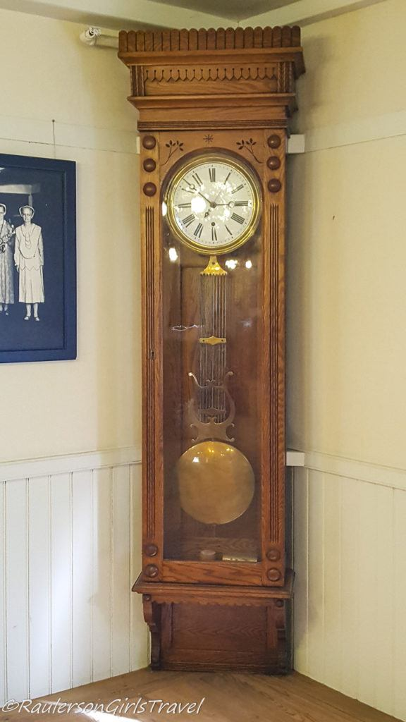 Grandfather Clock in Canterbury Shaker Village