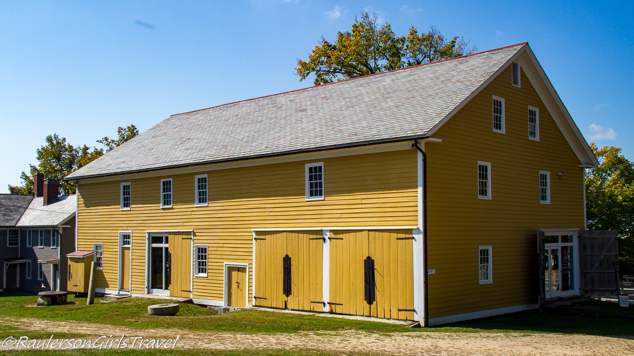 Carriage House, Admissions, and Museum Shop at Canterbury Shaker Village