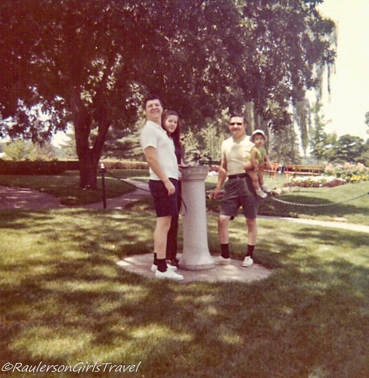 Dad, Heather, Aunt Sue, and Grandpa