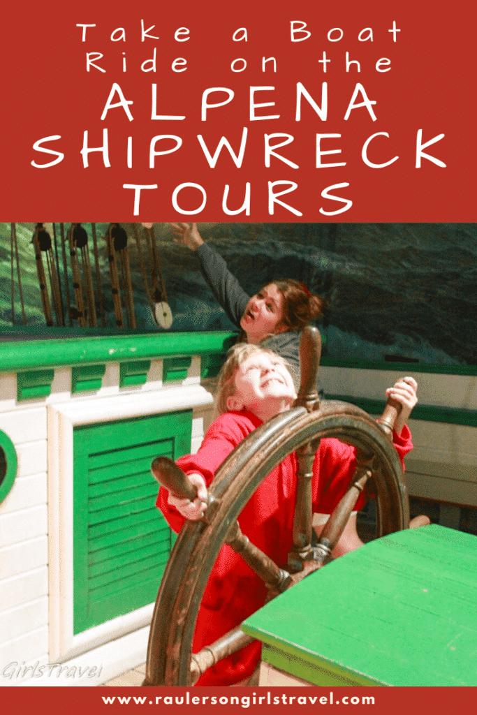 Alpena Shipwreck Tours Pinterest Pin